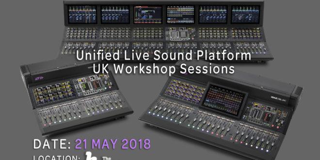 HD Pro Audio to hosts Avid Expanded S6L Range workshop