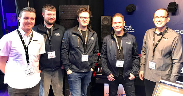 KV2 Audio and Apex Acoustics join forces at PLASA Focus Glasgow