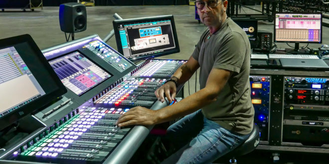 FOH engineer Jim Ebdon on touring with Sam Smith and SSL L200
